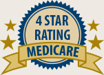 4 Star Rating from Medicare