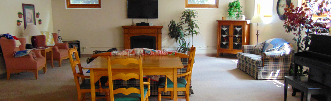 Activity Room at Rolling Hills in Sparta, Wisconsin