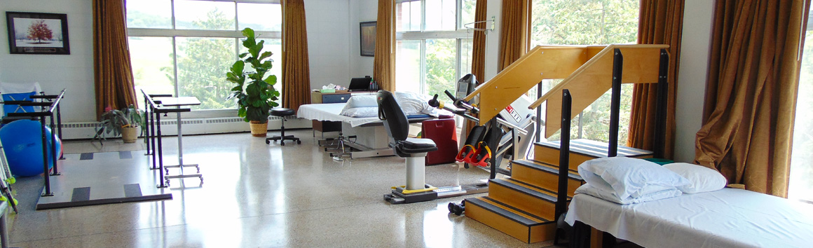 Therapy and Rehab Room at Rolling Hills in Sparta, WI